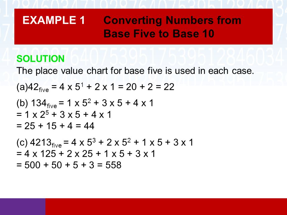 Math In Our World Section 43 Base Number Systems Ppt Video