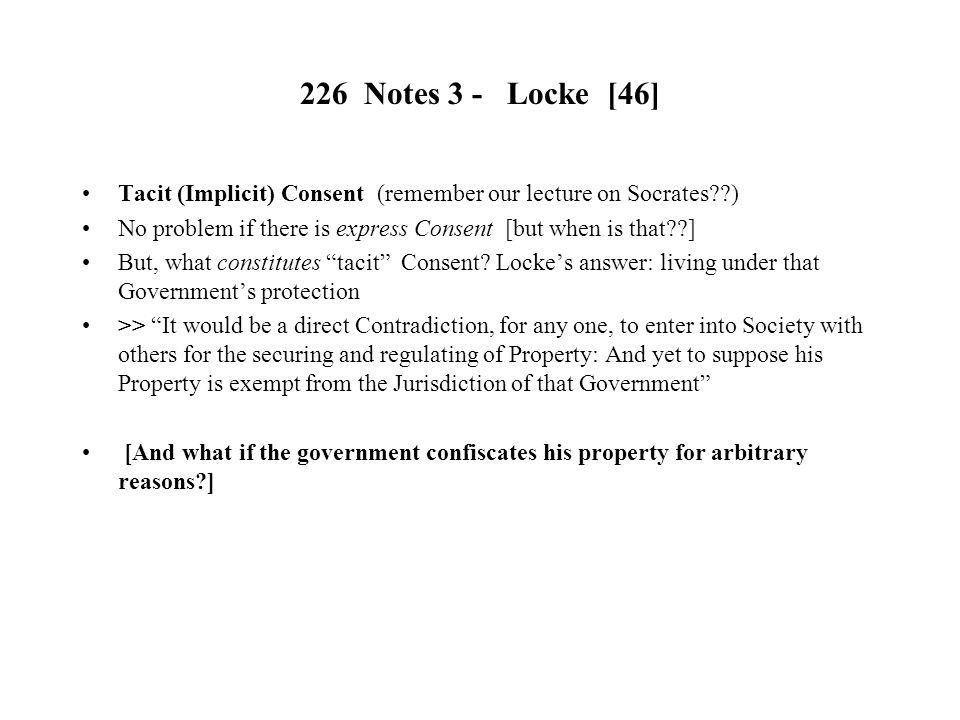 226 Notes Locke 1 John Locke Ppt Download