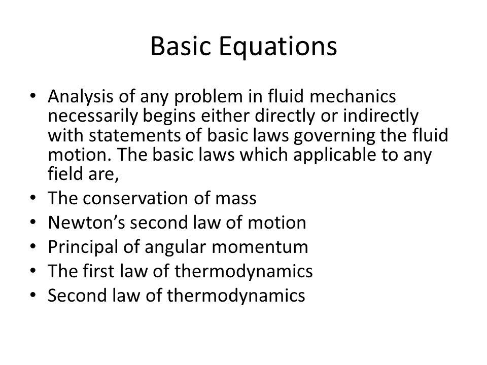 Fluid Mechanics and Fluid Dynamics - ppt download