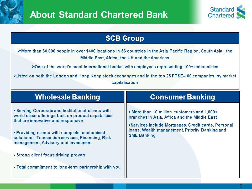 Standard Chartered Bank - ppt video online download