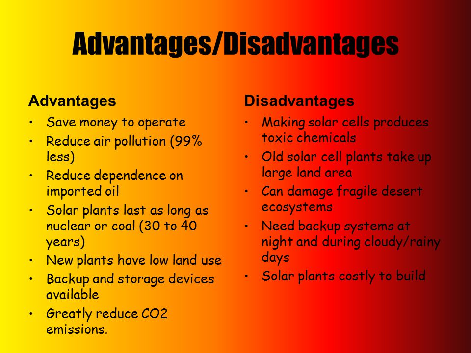 Types And Uses Of Solar Energy Ppt Download