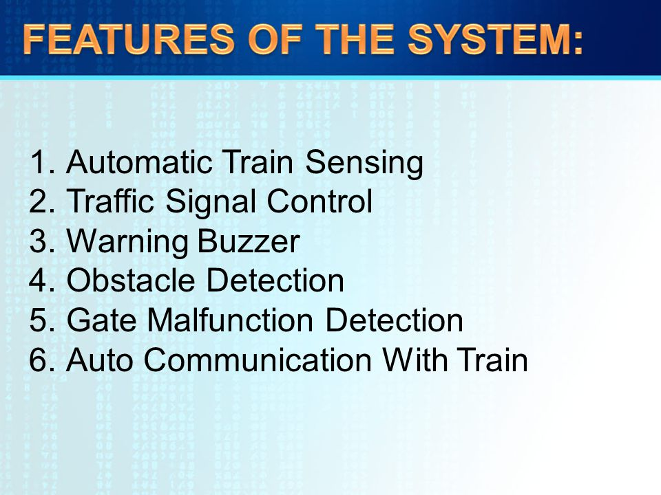 AUTOMATIC RAILWAY GATE CONTROL SYSTEM - ppt video online