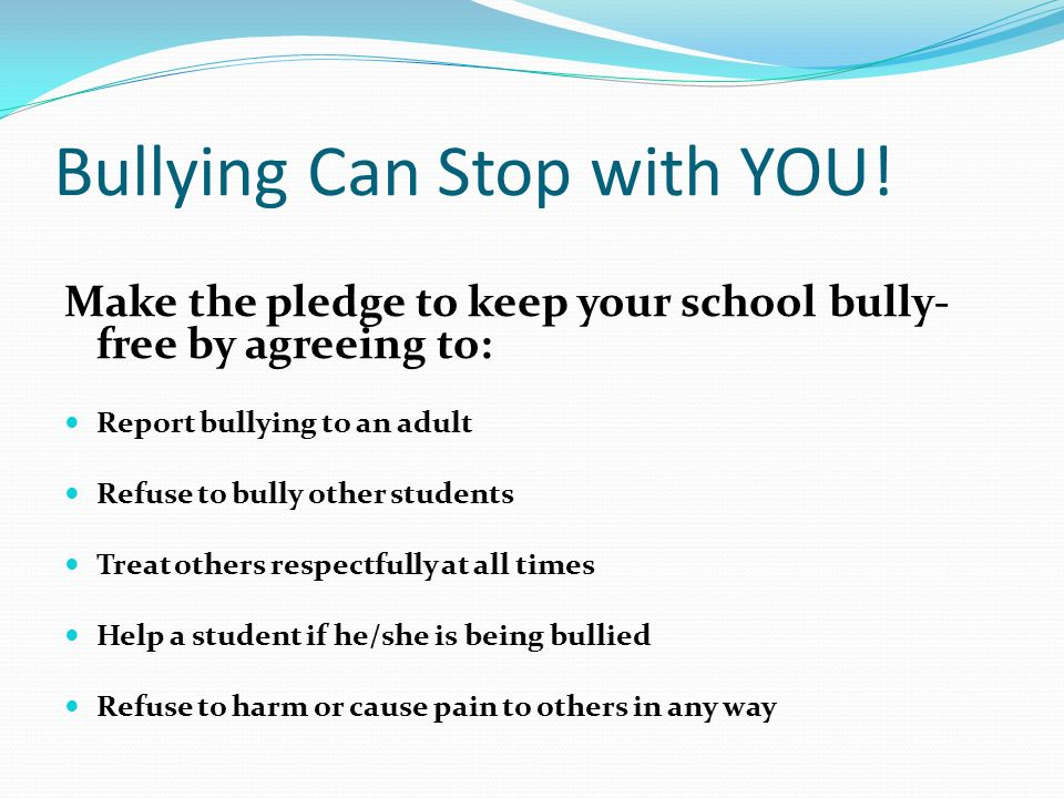 what are some causes of bullying
