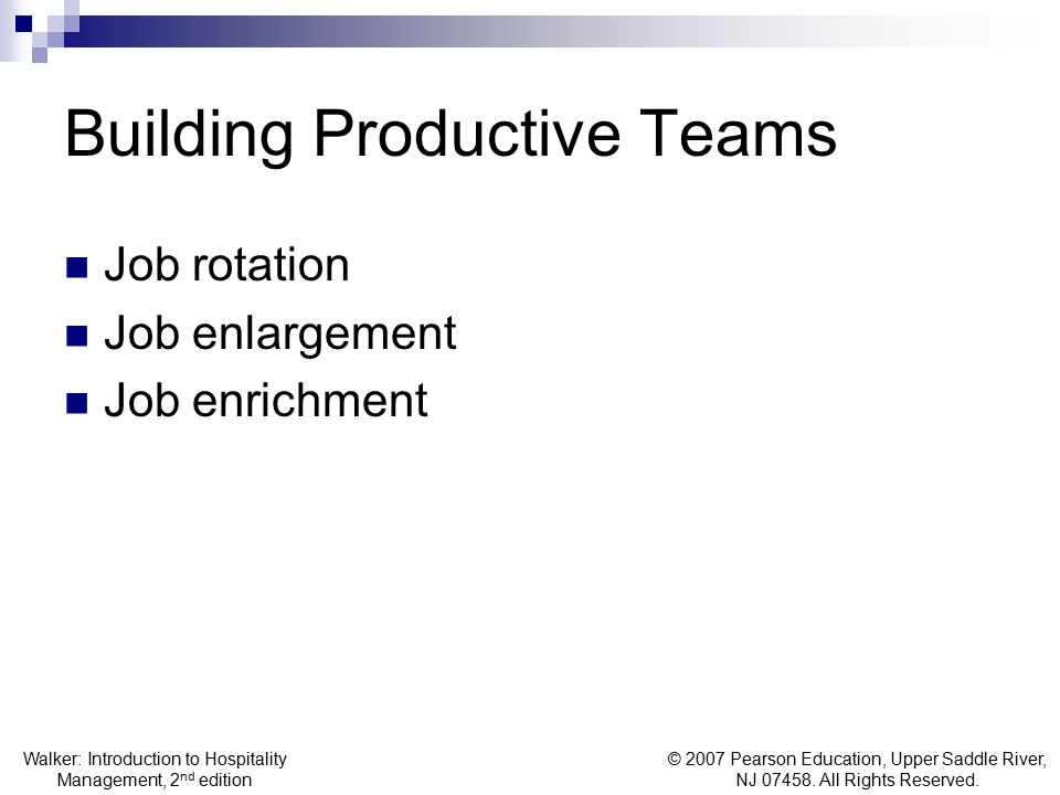 Building Productive Teams