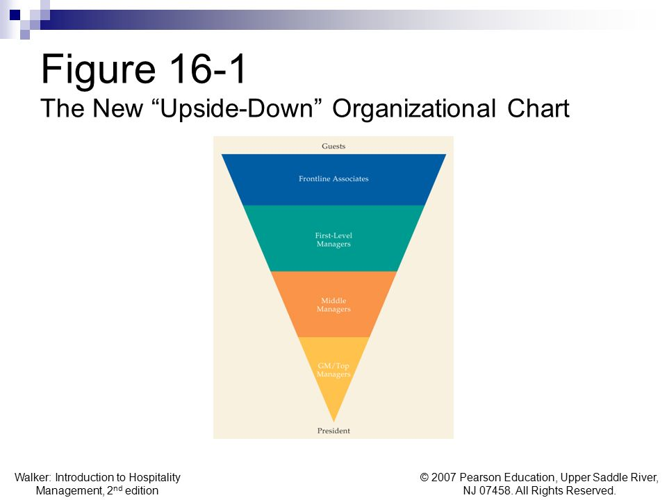 Figure 16-1 The New Upside-Down Organizational Chart