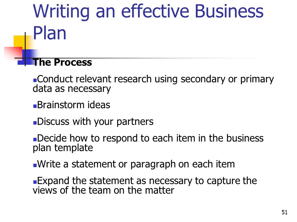 OVERVIEW OF THE BUSINESS PLAN Ppt Video Online Download - Effective business plan template