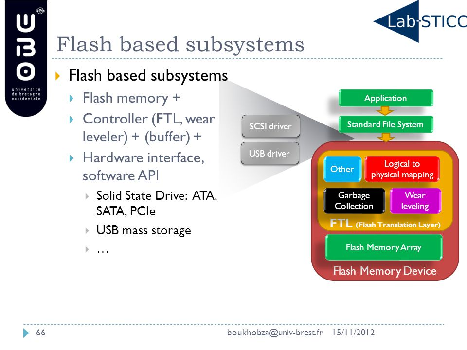Flashing in the Memory Hierarchy An Overview on Flash Memory