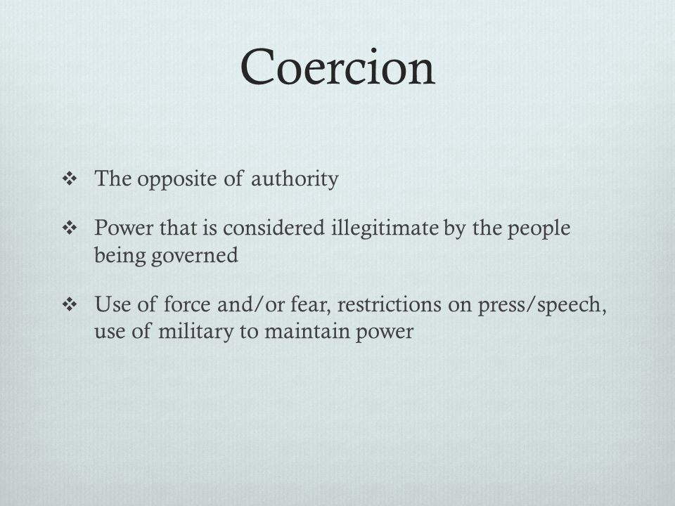 authority definition sociology