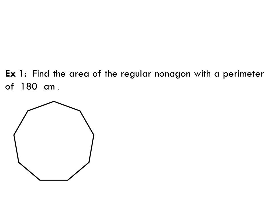 how to find the area of a regular trapezium