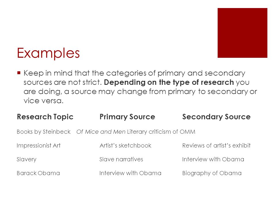 Research Primary And Secondary Sources Ppt Download