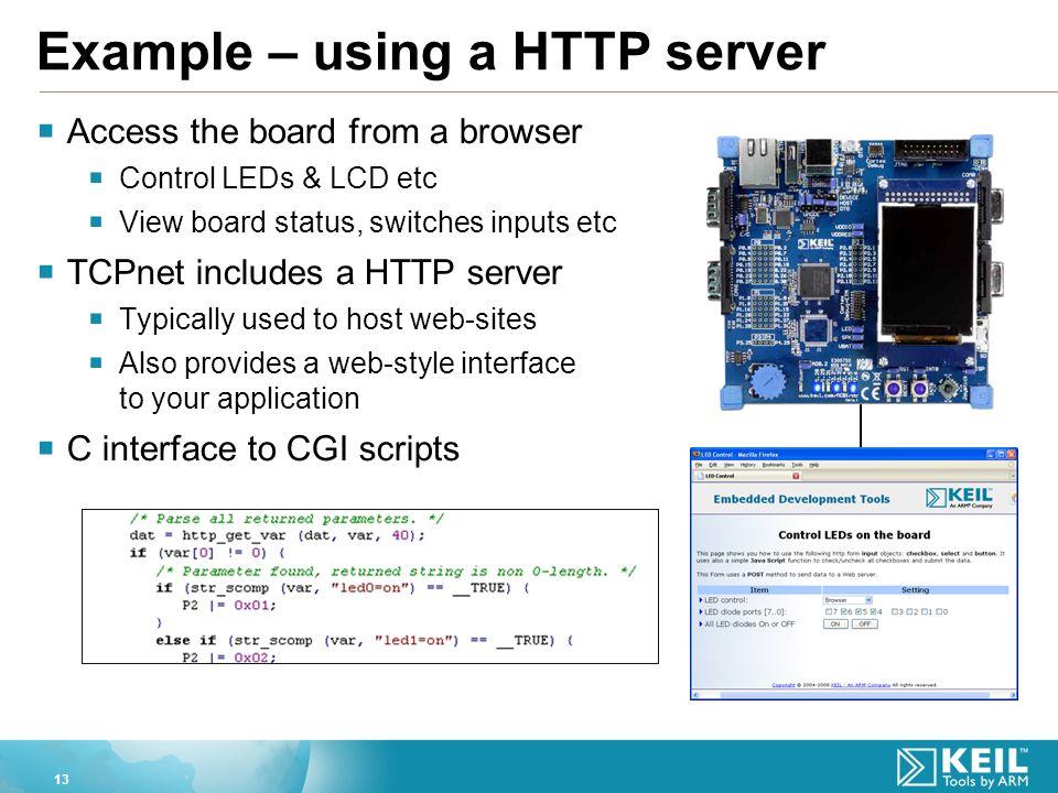 Embedded Http Server
