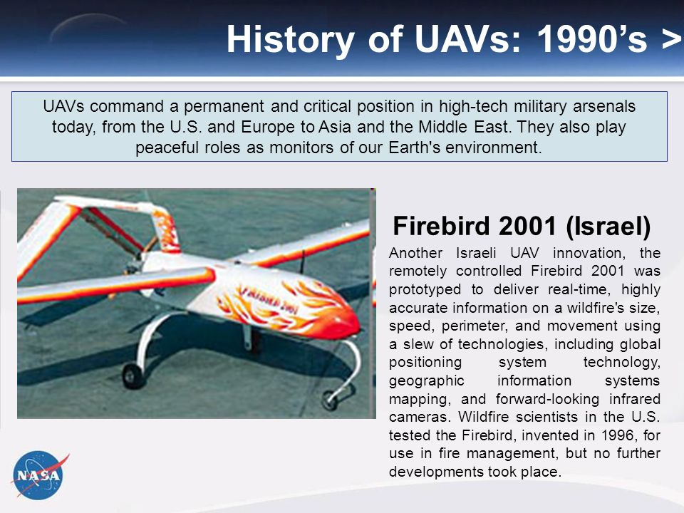 History of Unmanned Aerial Systems - ppt download