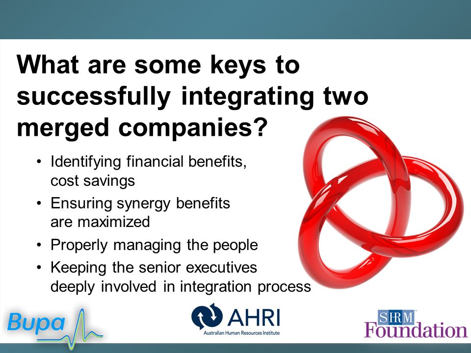 benefits of merging companies