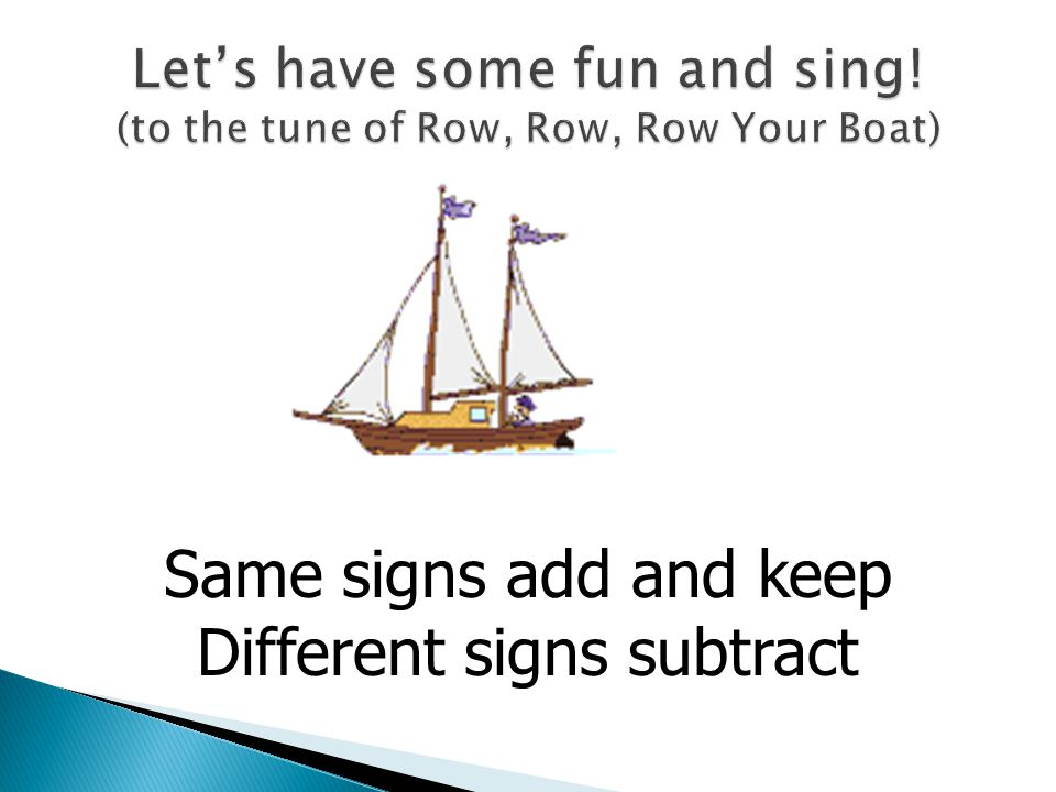 Let's have some fun and sing! (to the tune of Row, Row, Row Your Boat)