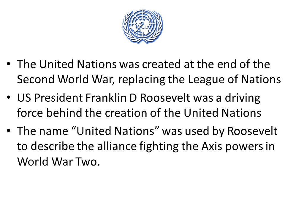 was the united nations no better than the league of nations The league of nations would prove a well-intentioned footnote to history, but nothing more as world war ii raged, president franklin far more than the league, the united nations would grow to become a massive, sometimes unwieldy bureaucracy with numerous subordinate agencies focusing.