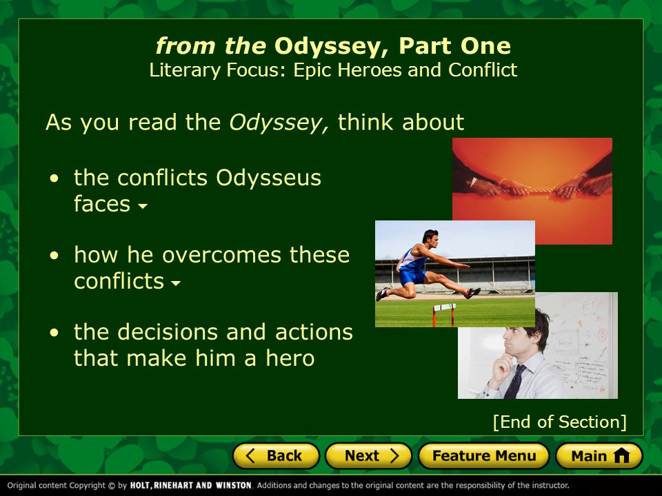 the odyssey conflict and theme part 4