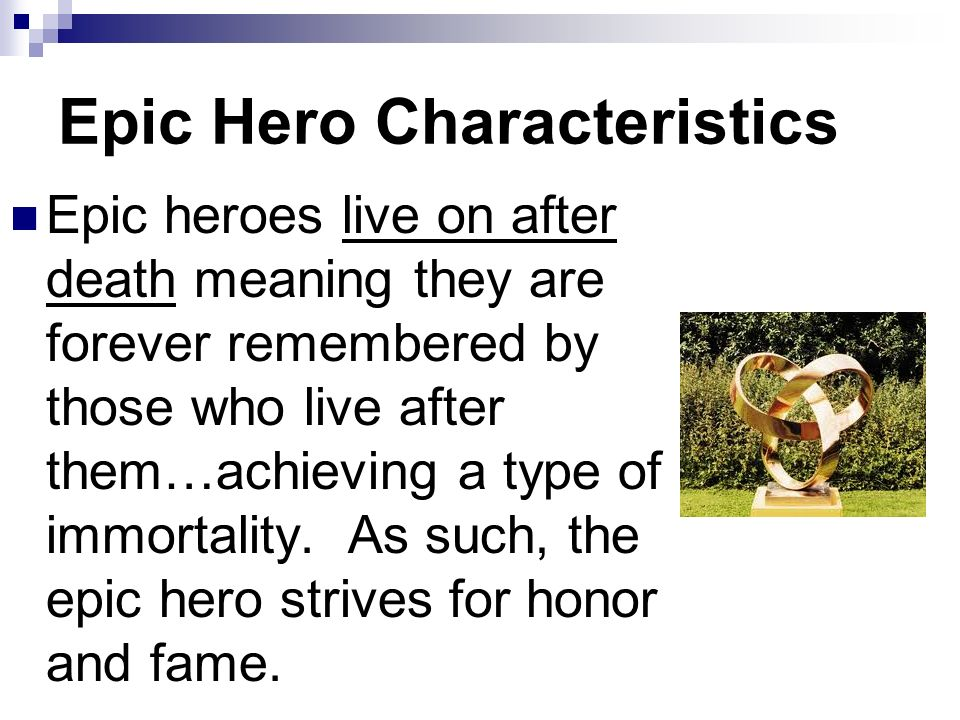 epic hero meaning