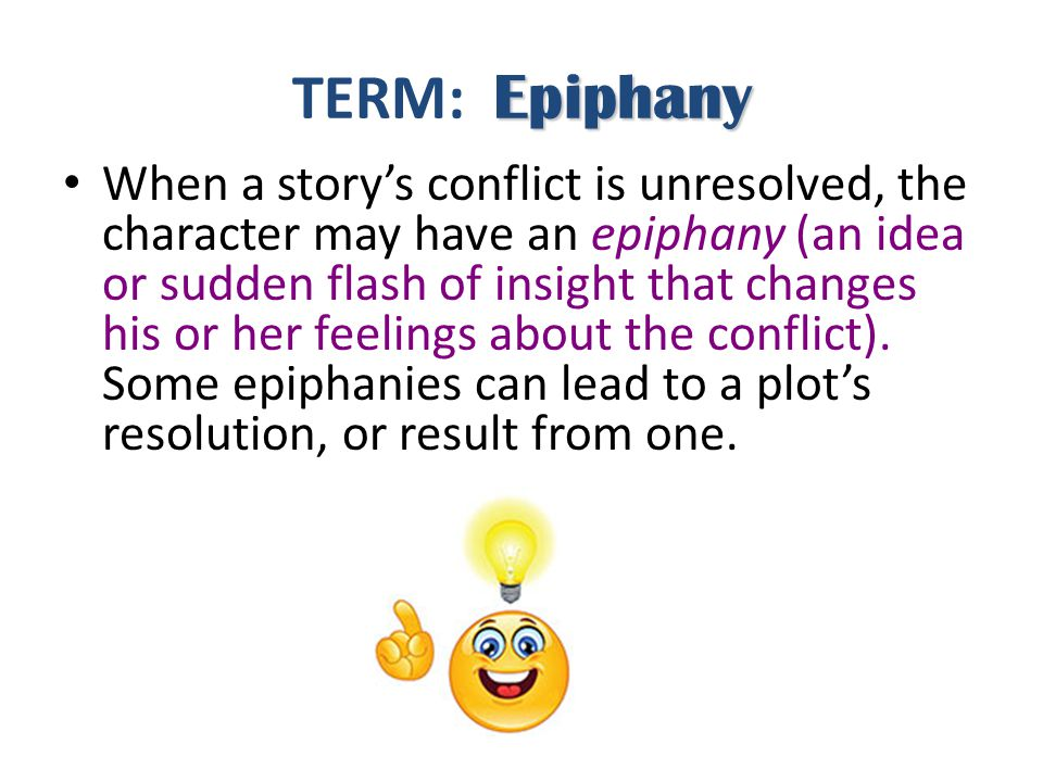 TERM: Epiphany