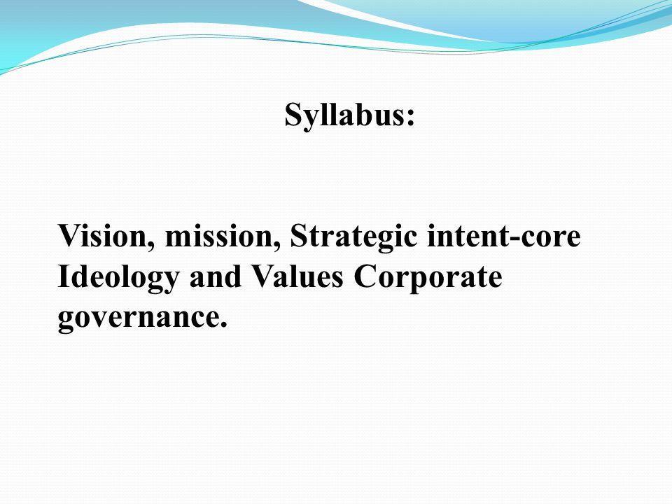 Business Strategy I Strategic Purpose(15-16th july 2013