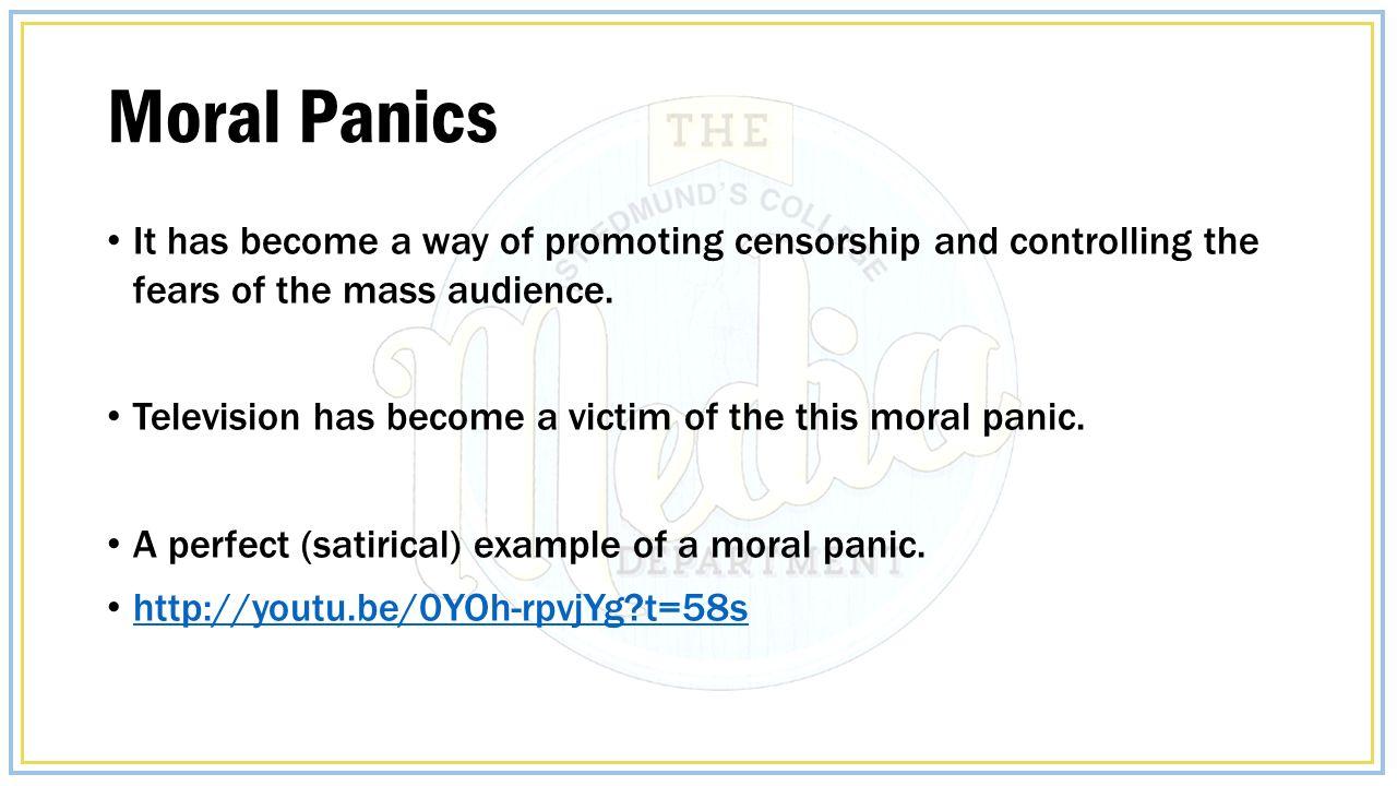 Moral Panics Ppt Video Online Download