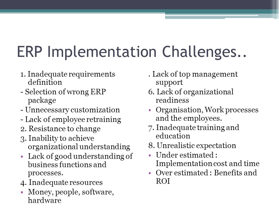 resistance to change and erp implementation Resistance to change in erp implementationprojects tacticus requested this master's thesis,aconsultancyfirmsituated in malmöandspecialized in.