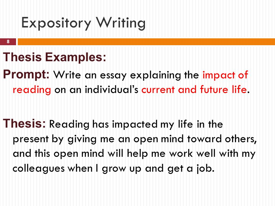 STAAR Writing test: The expository Essay - ppt video online