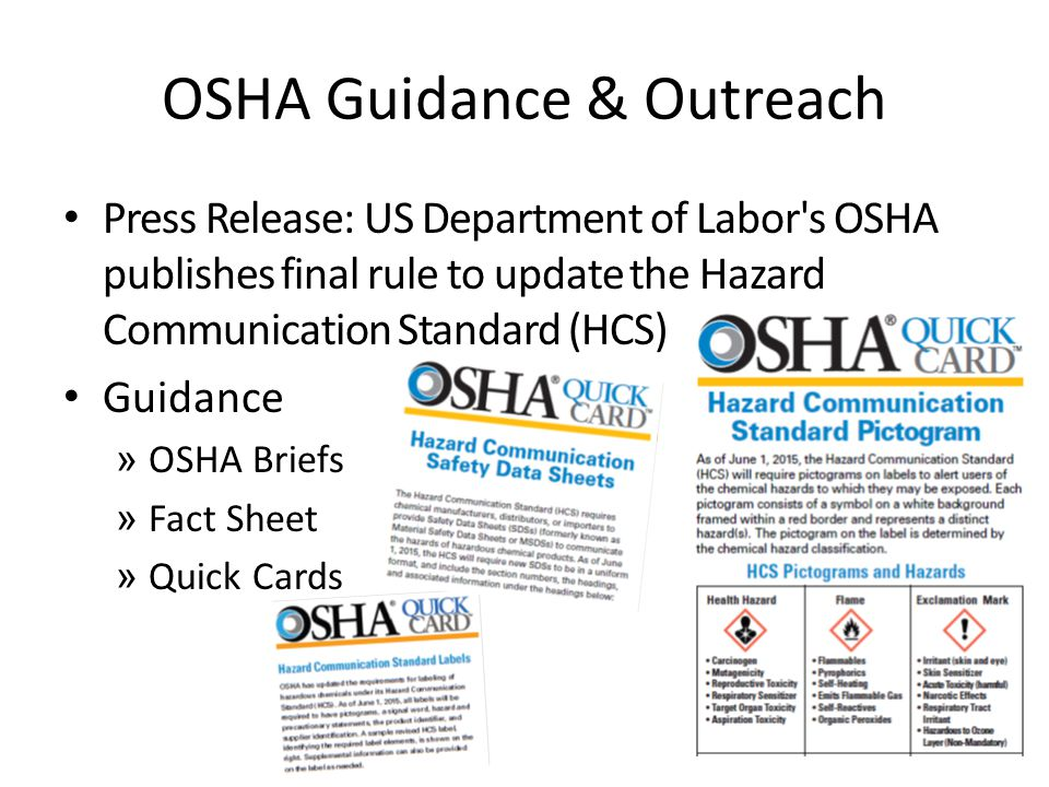 Revised Hazard Communication Handout ppt video online download