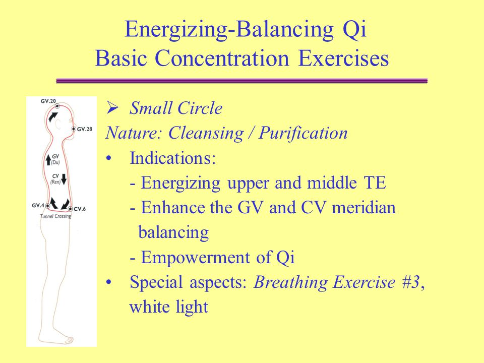 Aung Medical Qi Gong Basic Concentration Exercises - ppt