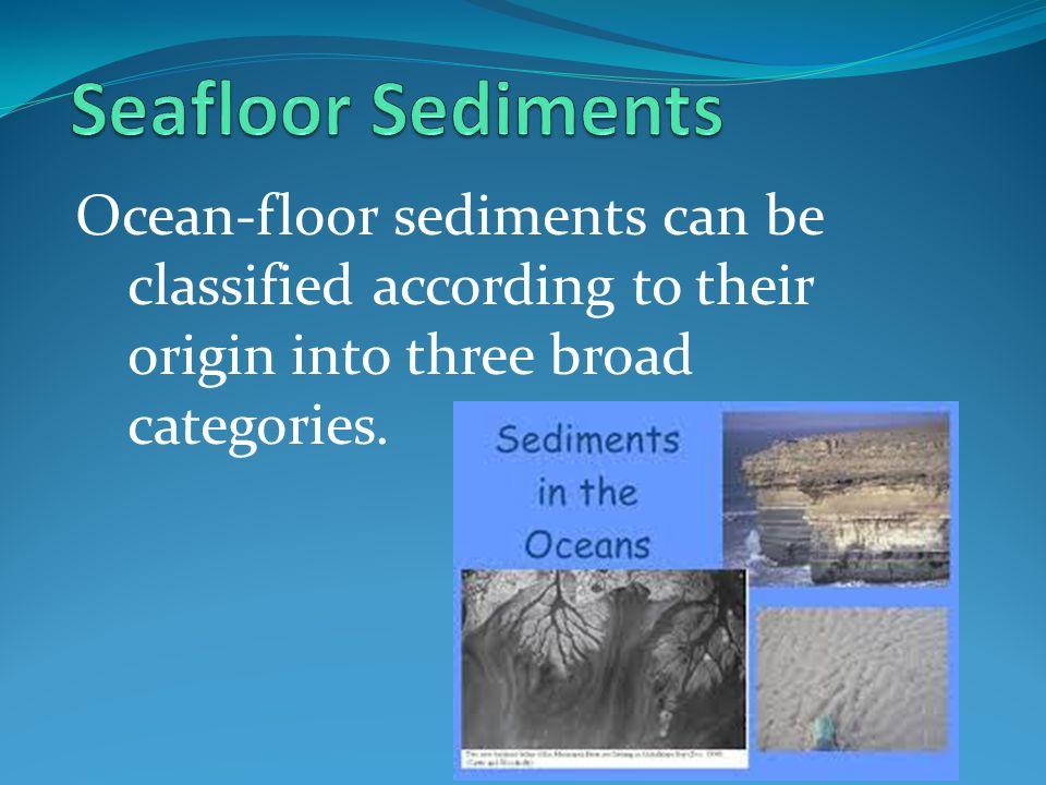 ocean floor sediments