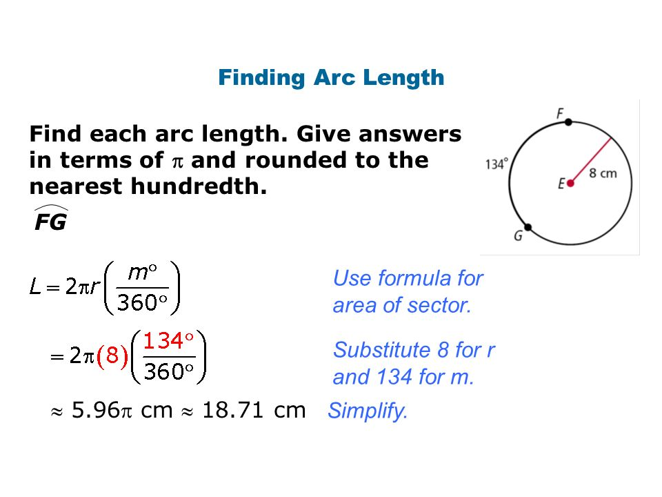 Circumference And Arc Length Ppt Video Online Download