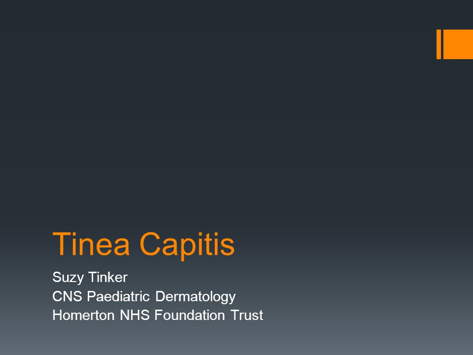 Suzy Tinker CNS Paediatric Dermatology Homerton NHS Foundation Trust