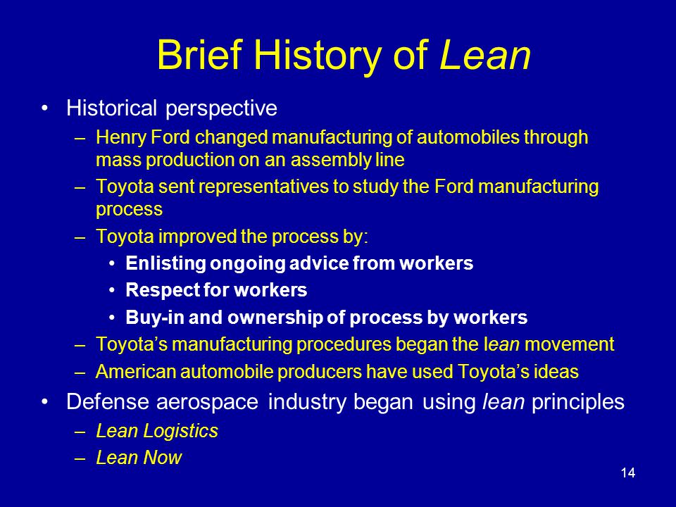 Applying Lean Thinking to Government Contracting - ppt ...
