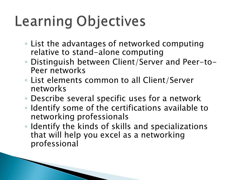 distinguish between peer to peer and client server network