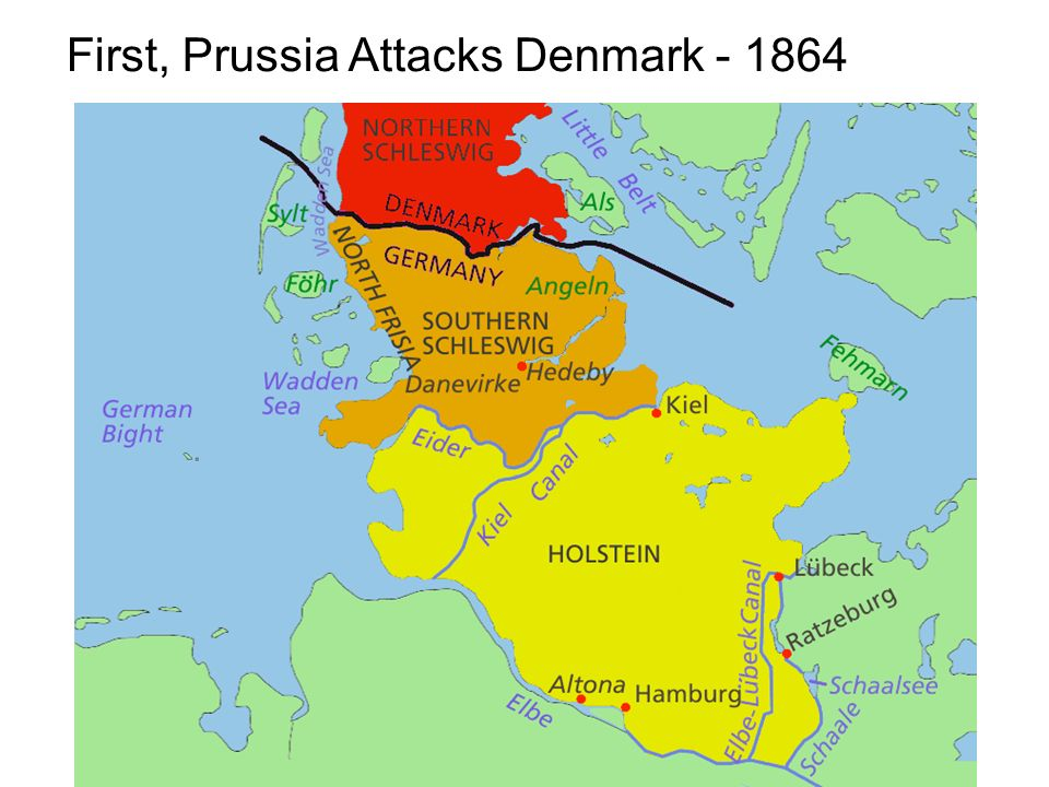 First, Prussia Attacks Denmark