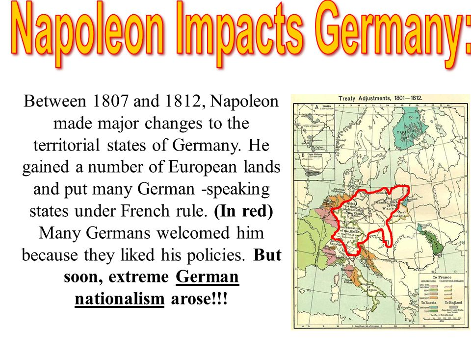 Napoleon Impacts Germany: