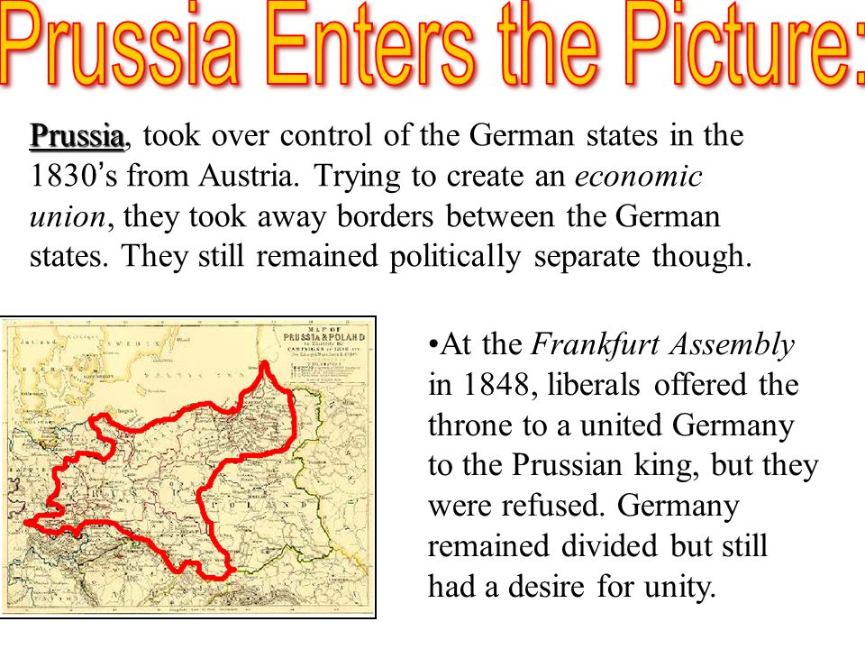 Prussia Enters the Picture: