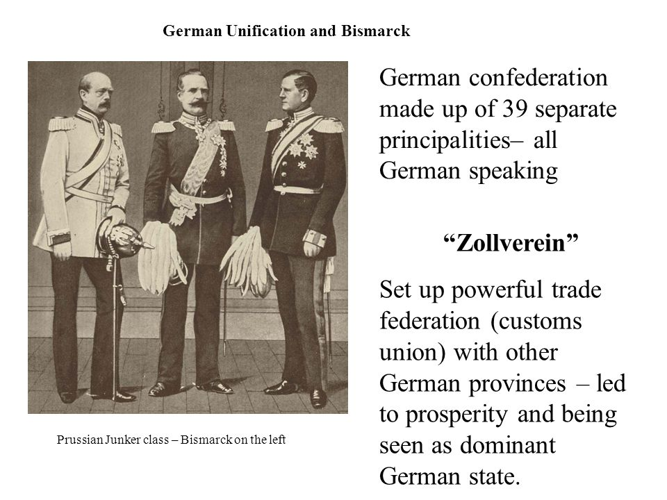 German Unification and Bismarck