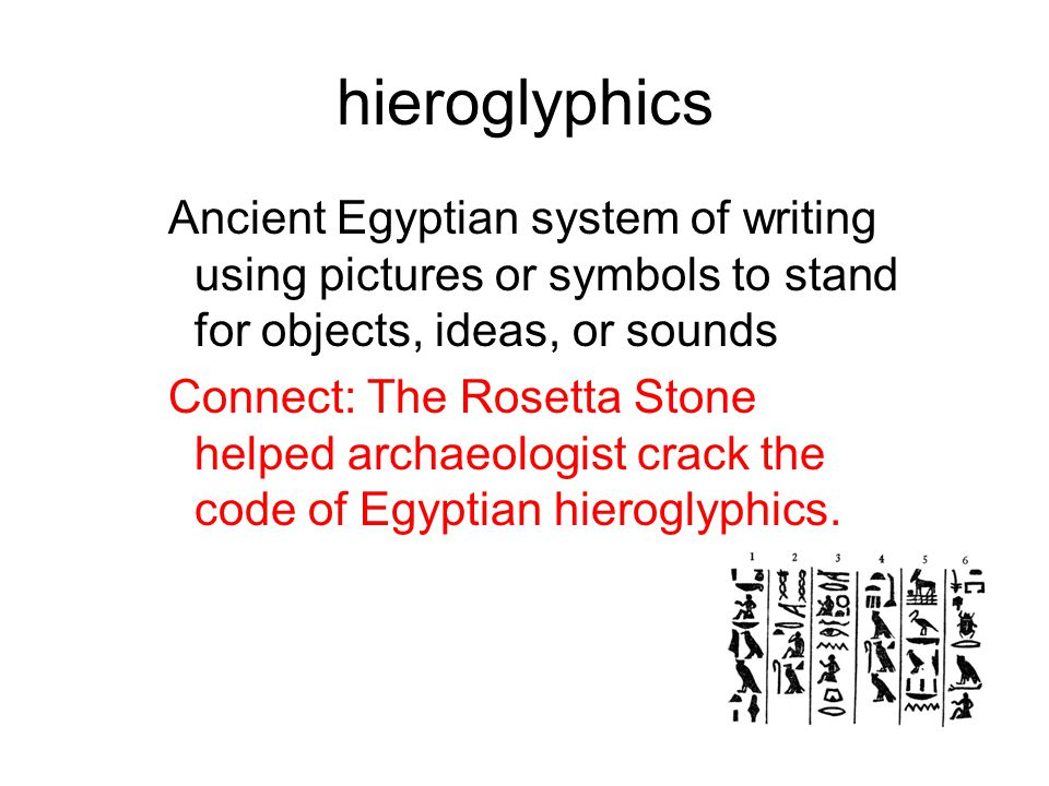 Ancient Egypt Vocabulary Definitions Connections Ppt Video