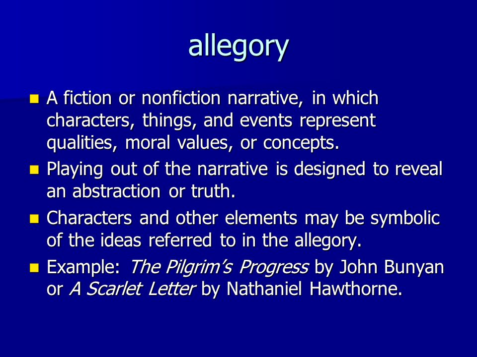 Literary And Rhetorical Terms Ppt Download