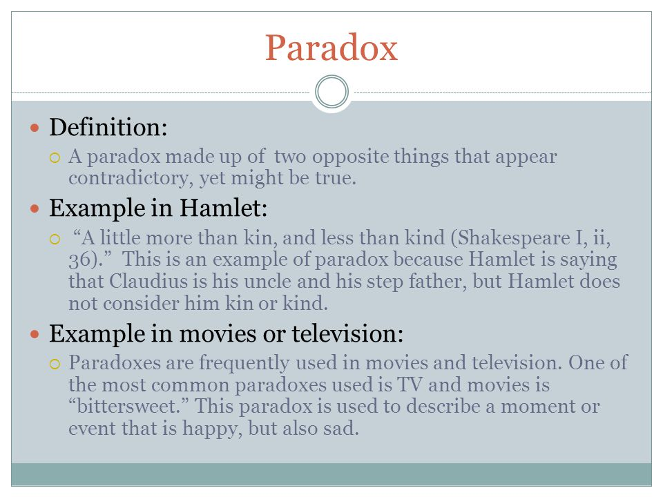 Definition Of Paradox And Examples Choice Image Example Cover