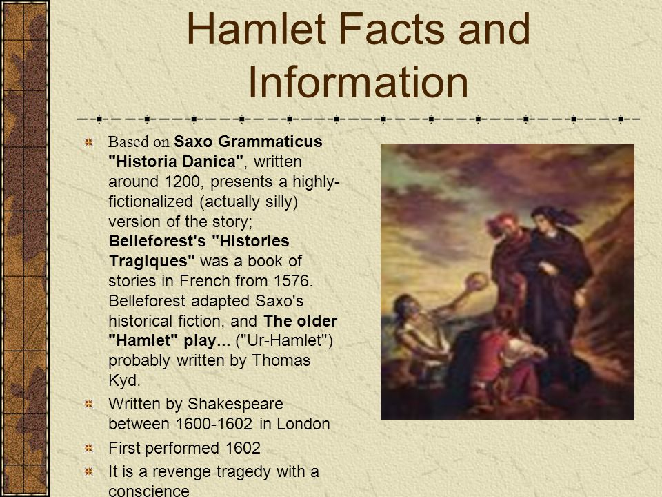 hamlet was written by