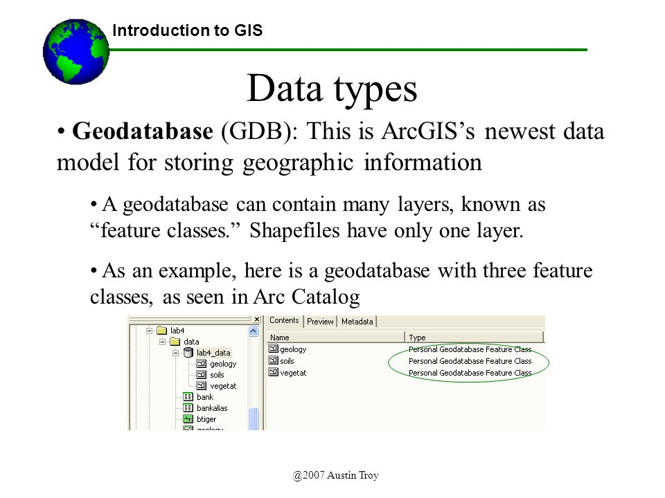 Introduction to the Architecture of ArcGIS - ppt video
