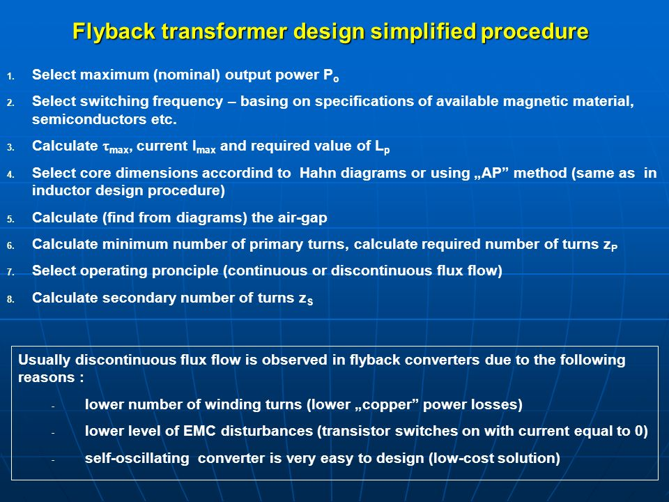 SWITCH-MODE POWER SUPPLIES AND SYSTEMS - ppt download