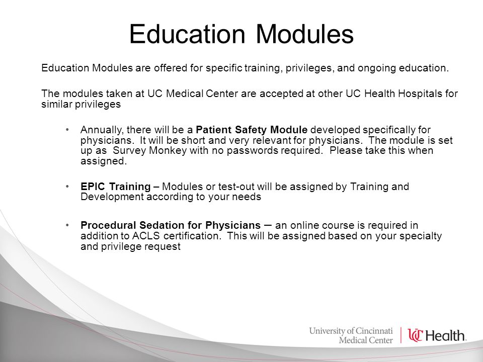 Physician Orientation Guide - ppt download