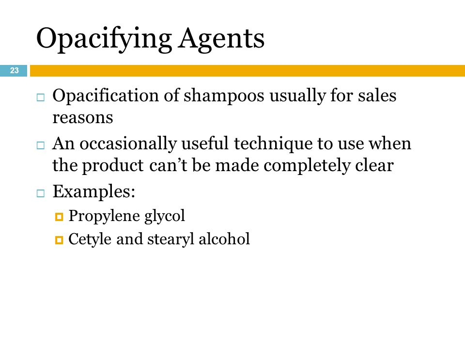 Shampoos & Hair Conditioners - ppt video online download