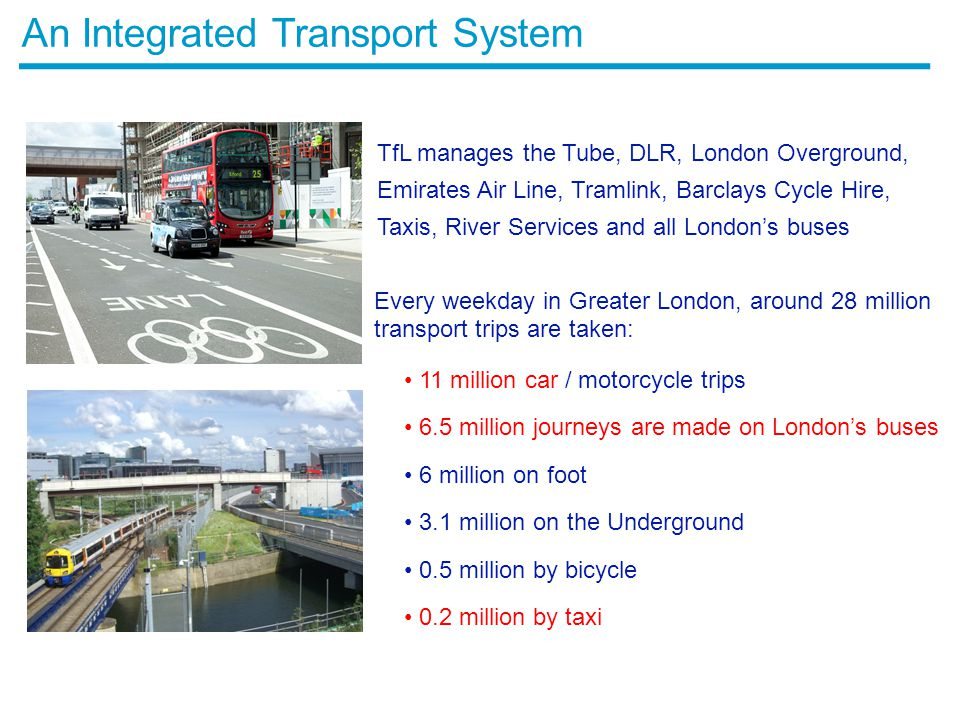 An Integrated Transport System