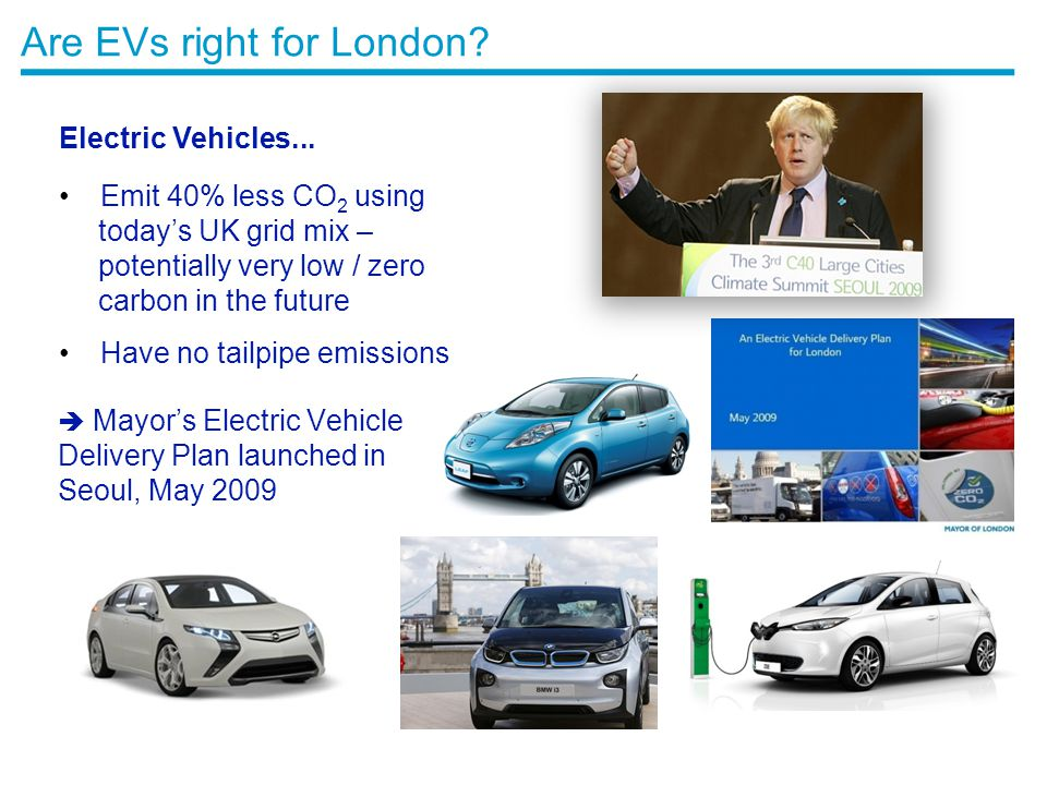 Are EVs right for London