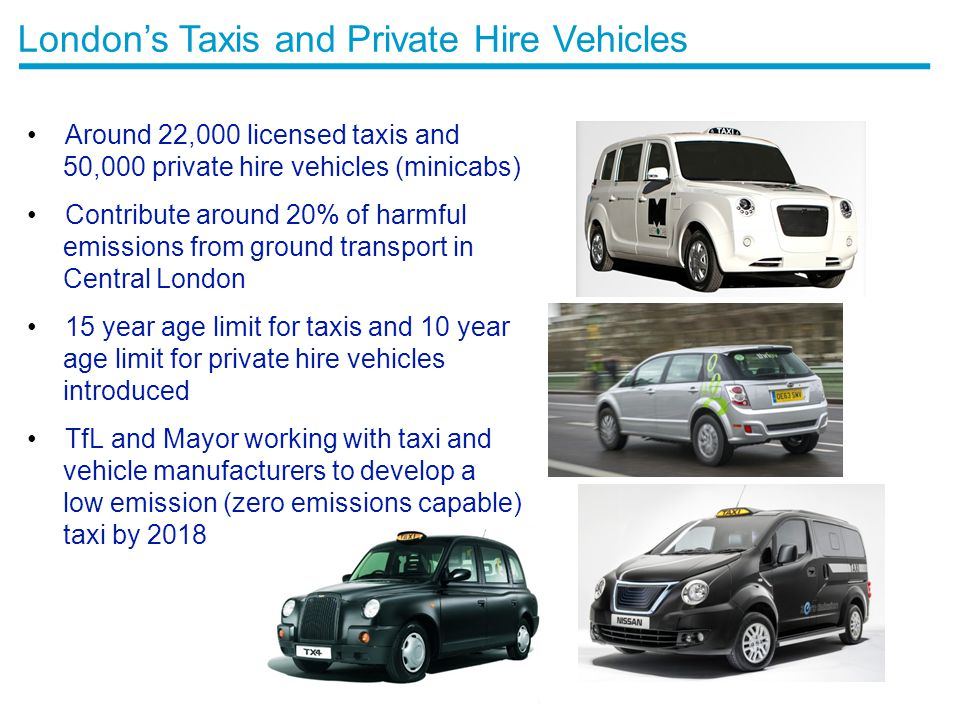 London's Taxis and Private Hire Vehicles