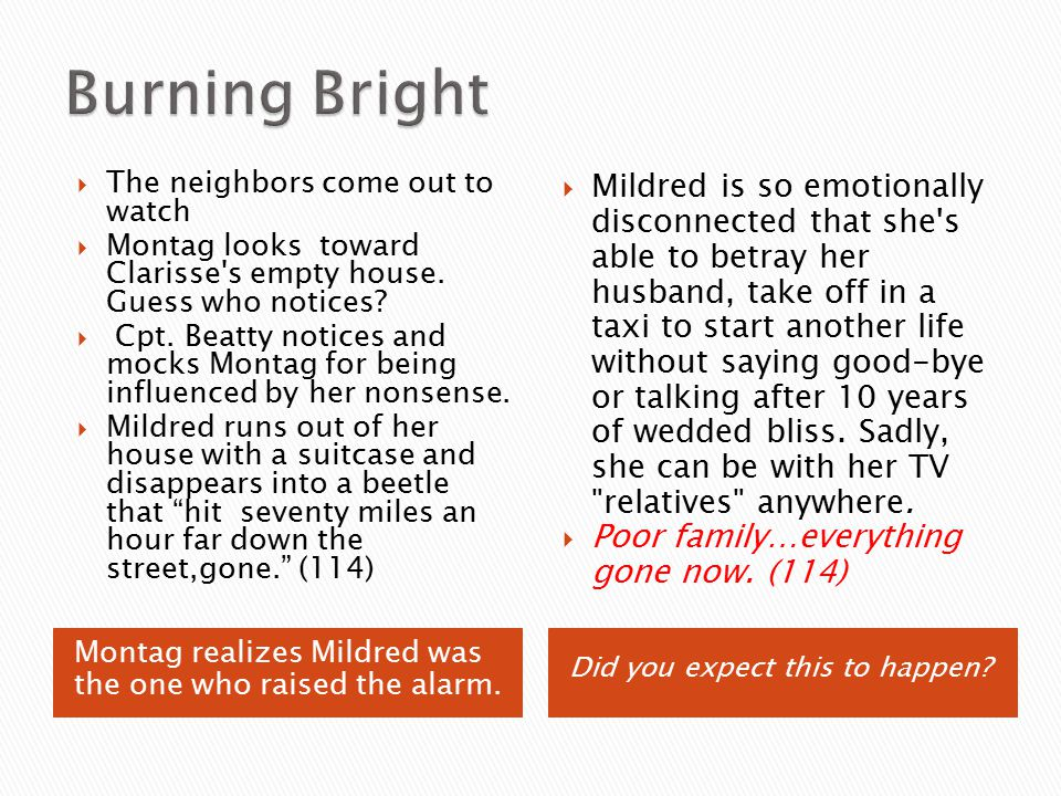 compare and contrast mildred and clarisse