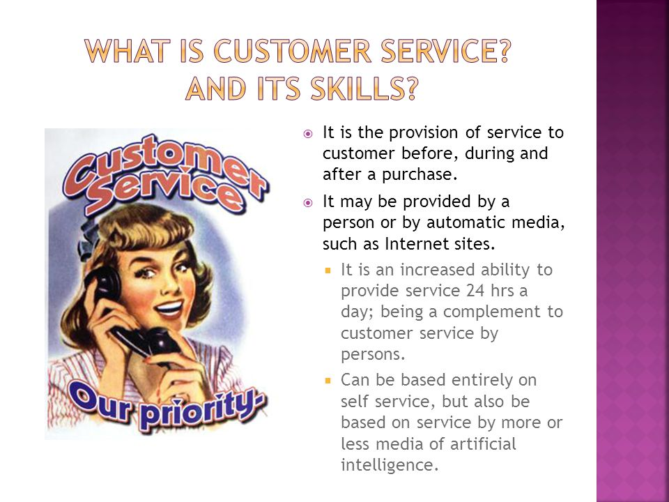 What is Customer Service And its skills